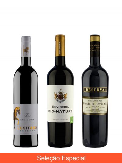 Special Ervideira's red wines Selection